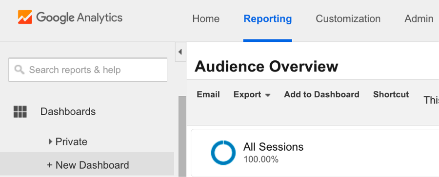 manually add data to google analytics