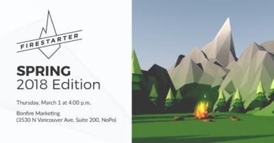 Spring Firestarter blog 2018
