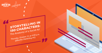Learn how storytelling in social ads can help boost cause and event marketing and new channel strategies.
